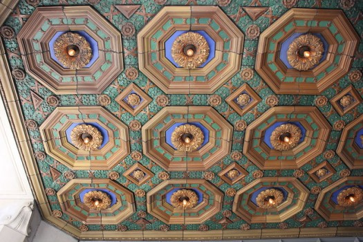 Ceiling, Alabama Power Building