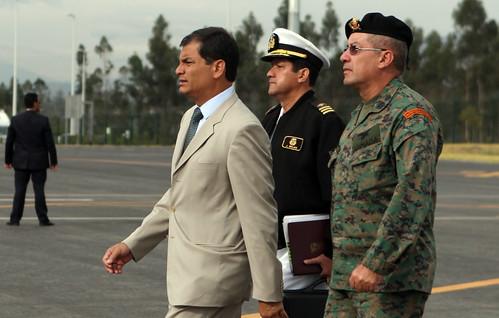 Presencia y fortaleza de Correa by Presidencia de la República del Ecuador, on Flickr