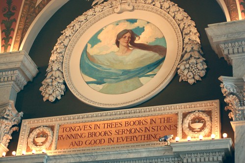 Good in everything mural, Library of Congress