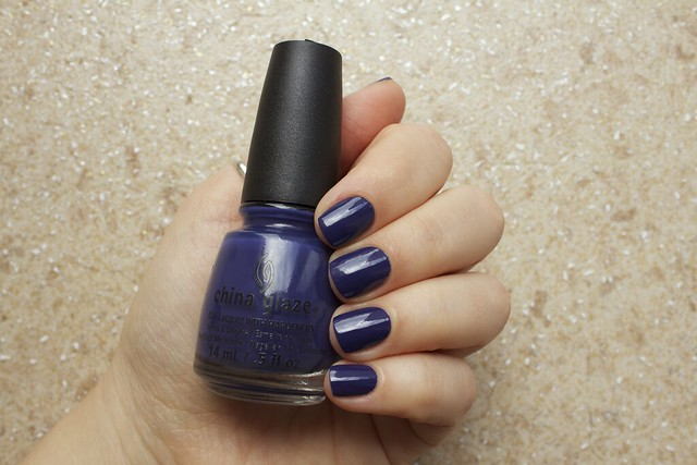 01 China Glaze Autumn Nights Queen B