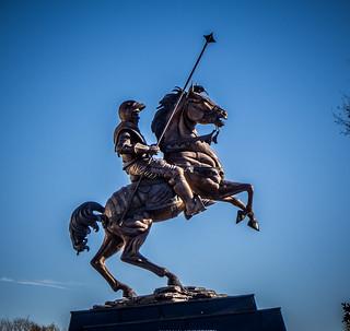 Paladin Statue