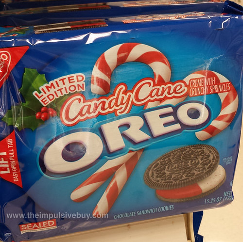 Limited Edition Candy Cane Oreo