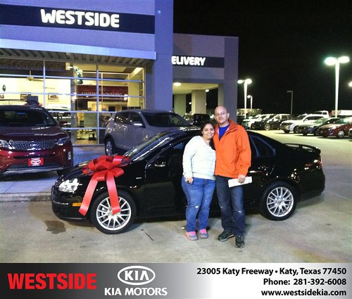 Thank you to Willian  Diaz on your new 2008 #Volkswagen #Jetta Sedan from Orlando Baez and everyone at Westside Kia! #NewCar! by Westside KIA