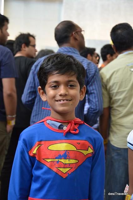 Superman at comic Con