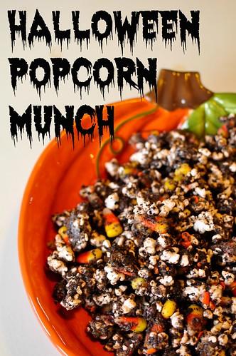 Halloween Popcorn Munch