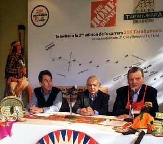 Carrera 21K Tarahumara 2014