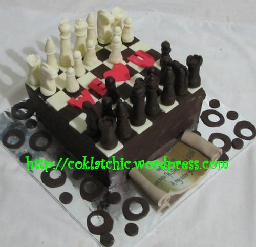Cake Catur