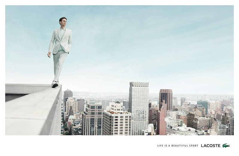 Lacoste - Life Is A Beautiful Sport Man Rooftop