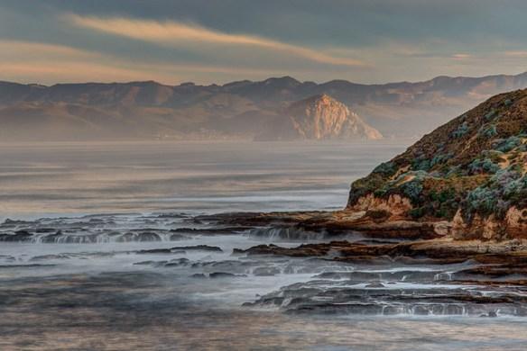 Morro Rock from Montana de Oro