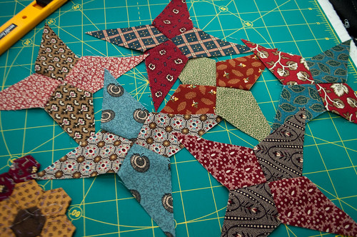 Hand Piecing Judy's 4-Patch