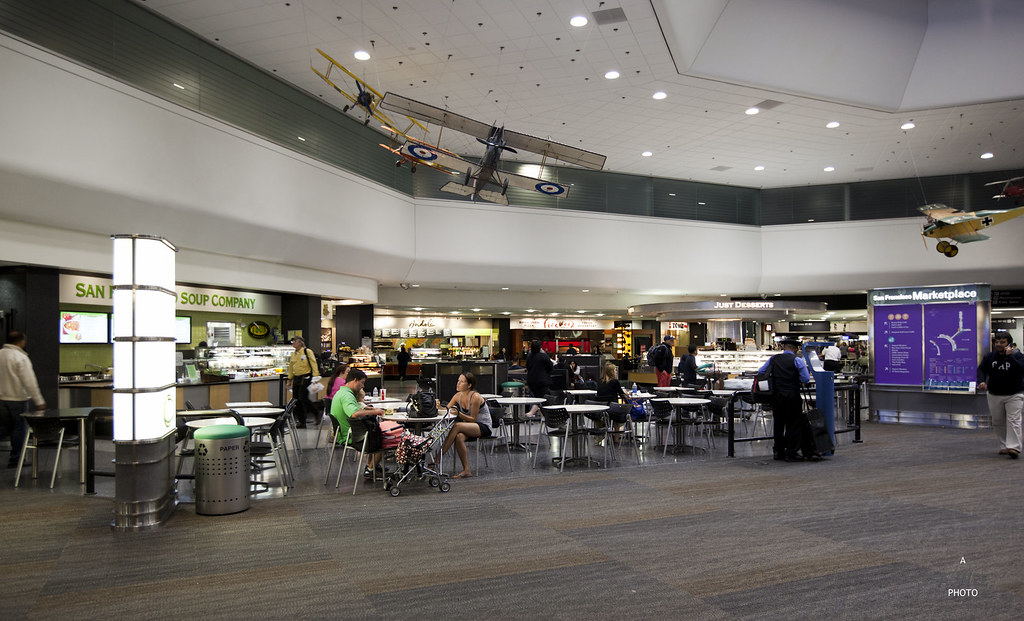 SFO Airport Food Court