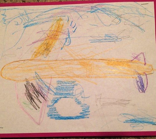 airplane, by annie