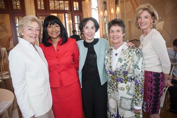 Gretchen de Baubigny, Deborah Hannah, Merla Zellerbach, Carol Doll, Mary Poland