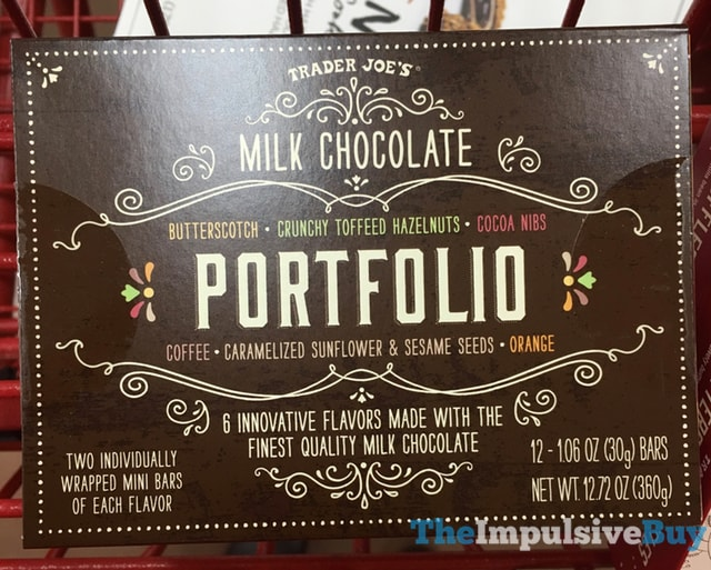 Trader Joe's Milk Chocolate Portfolio