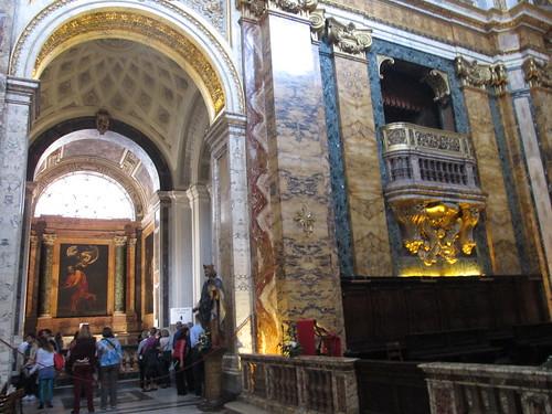 Iglesia San Luis de los Franceses, San Luigi dei Francesi. Roma
