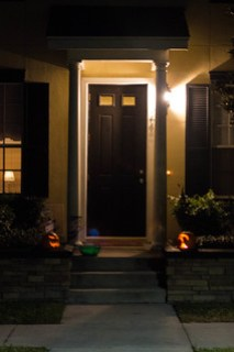Halloween Front Porch - 2013