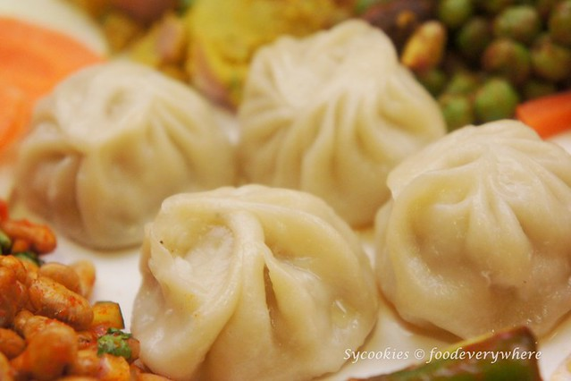 4.Tasting Snack Platter RM 24- chicken chilli, Bhuteko Bhatmas, Nepali salad, Mushroom peas, Aloo Silam and momo (11)