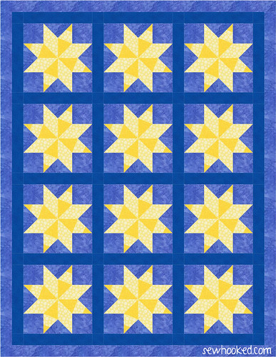 january one block quilt 3