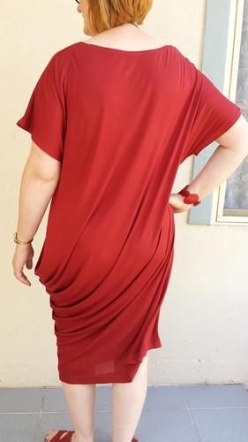 You Sew Girl! Draped T-Dress
