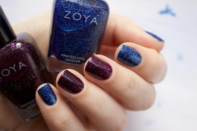 01 Zoya Dream + Zoya Payton