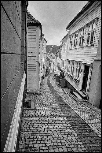 Bergen Back Streets 3 by Davidap2009
