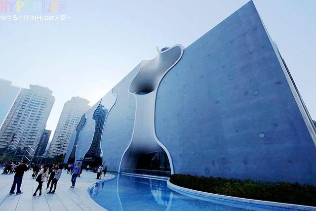 台中歌劇院聖誕燈光秀 (3)
