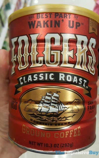 Folgers Heritage Edition 1850s Can