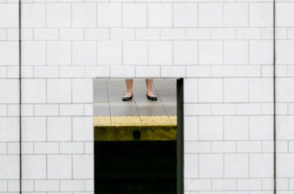 182/365 Black shoes