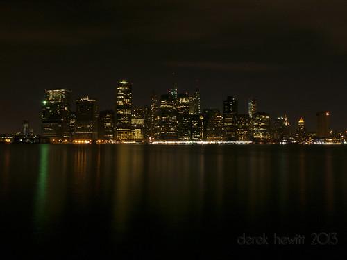 lower Manhattan skyline by Derek Hewitt Photography