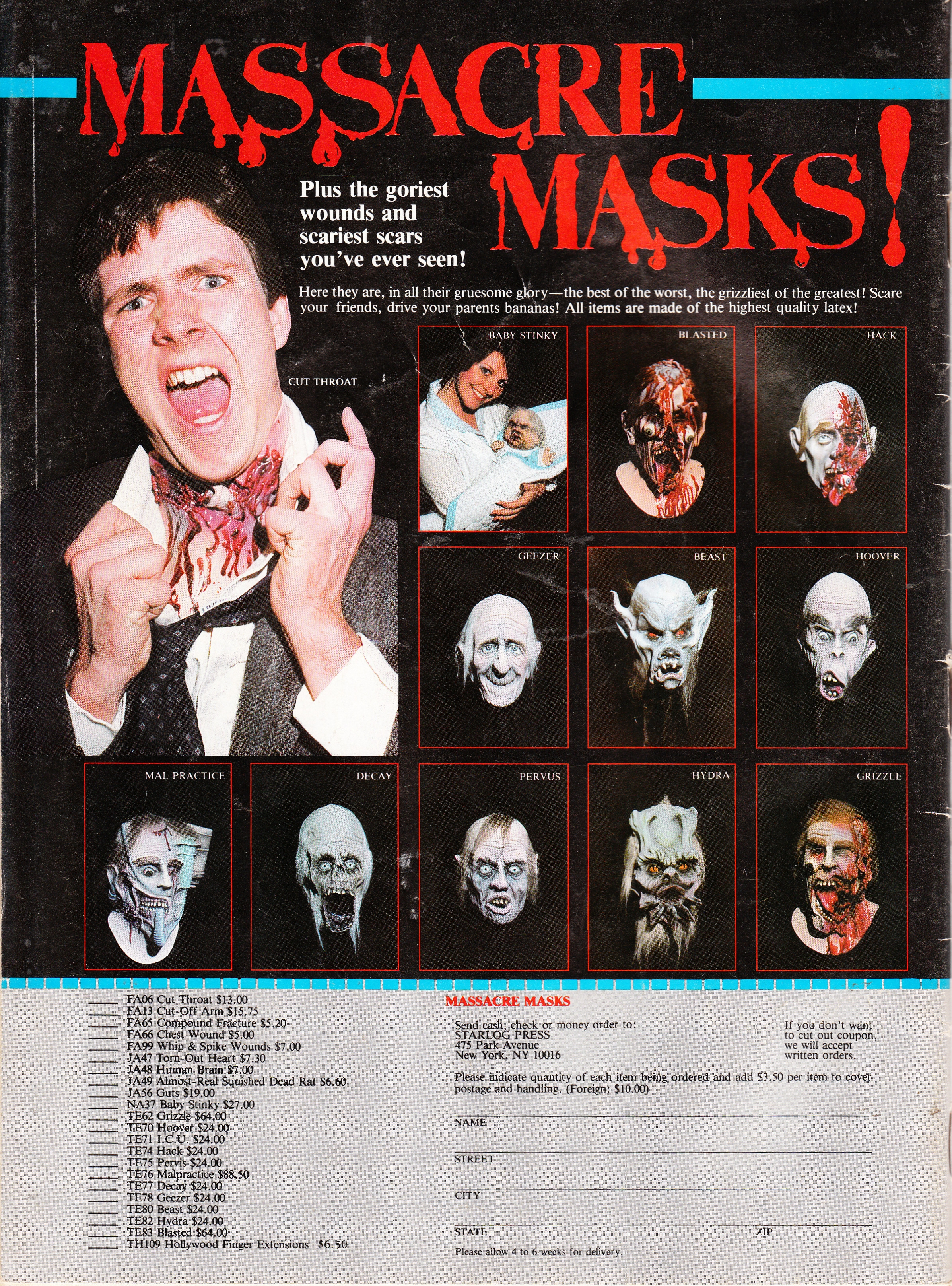 Massacre Masks