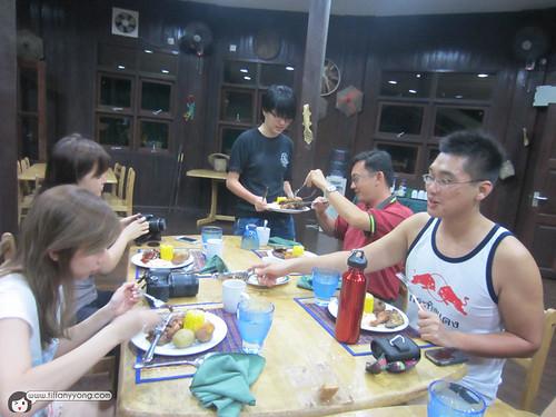 temburong national park dinner