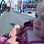 Bobbie at Portsmouth Harbour