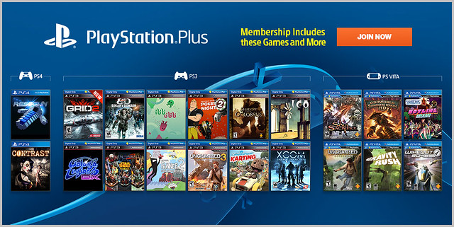 PlayStation Plus Update 12-3-2013