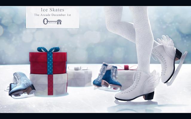 Ice Skates @ The Arcade