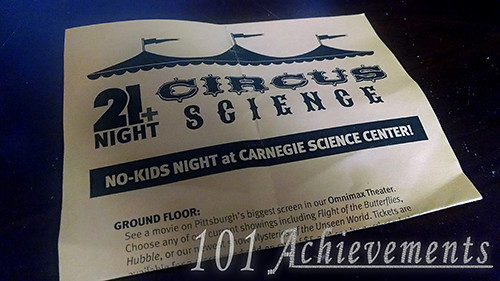 Over 21 Night @ Science Center