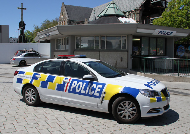 Christchurch Police Car