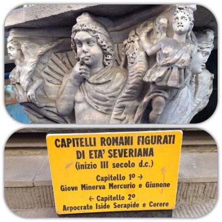 Capitelli romani, Pisa