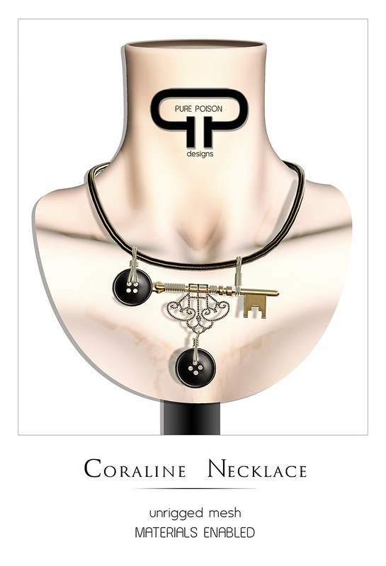 Pure Poison - Coraline Necklace