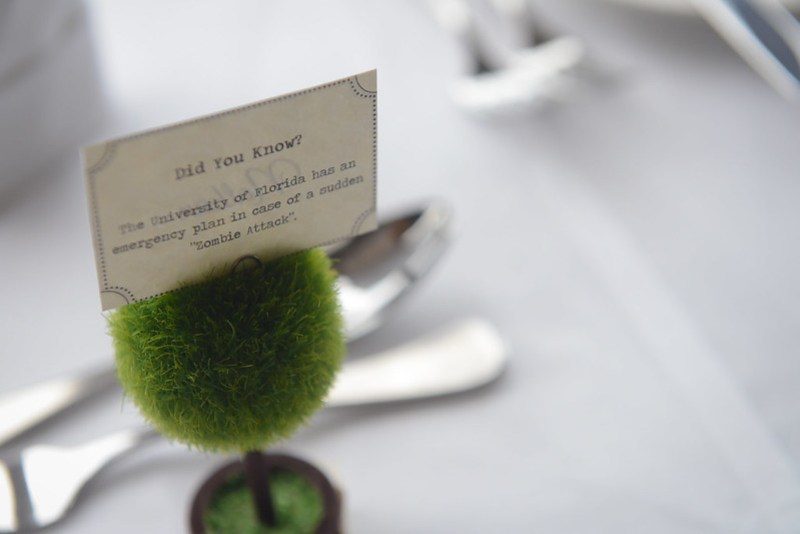 Nathan's place card