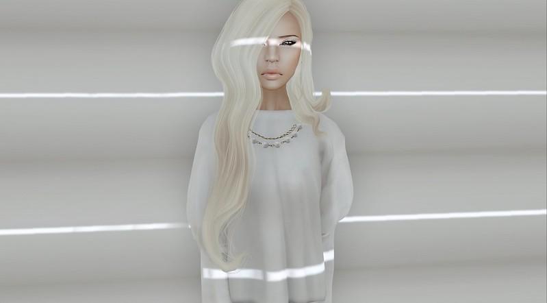 96.   Pretty in White