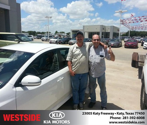 Thank you to Lasonya Stevens on the 2012 Kia Forte from Rubel Chowdhury and everyone at Westside Kia! by Westside KIA