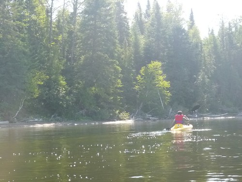 2013.08.25 - kayaking on lac Temiscouata