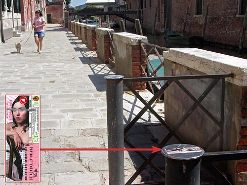 RJFC sticker #34 left in Venice