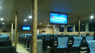 Ferry from Bali to Lombok island