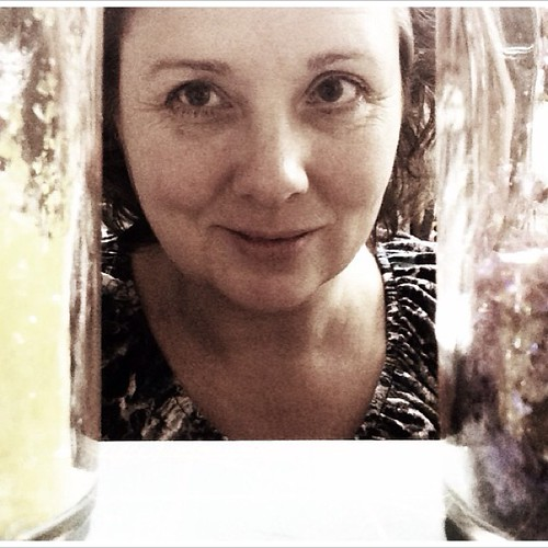 You know you have a crafting problem when you consider using glitter this late at night. #365feministselfie #mo365