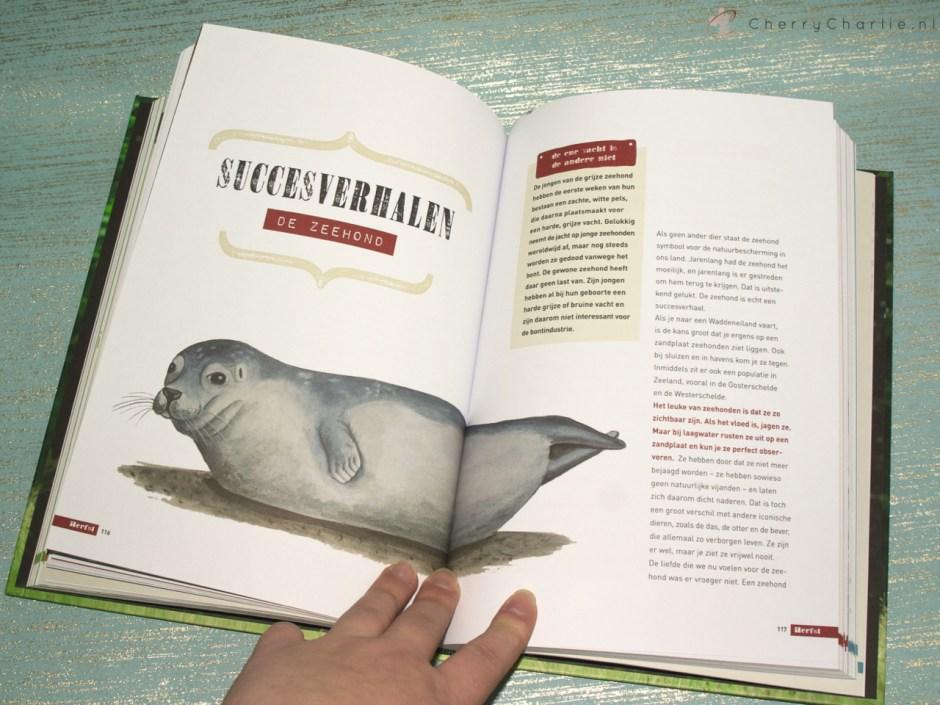 Boek review: Buiten gebeurt het - door boswachter Arjan Postma • CherryCharlie.nl