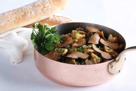 Sauteed Porcini with Truffle
