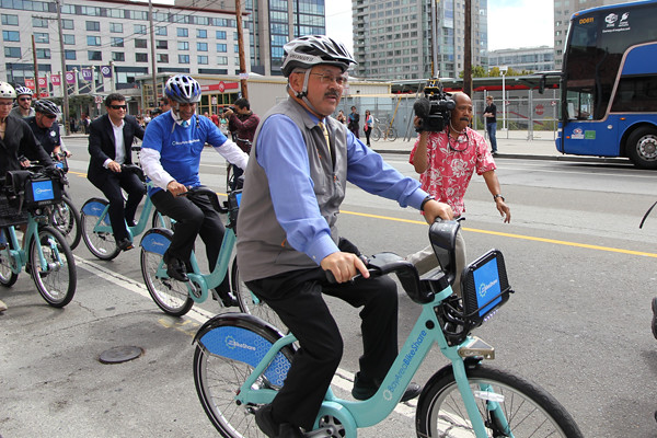 Mayor Lee on bikeshare