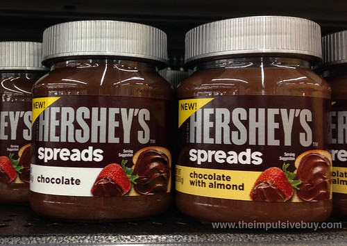 Hershey's Spreads Chocolate and Chocolate with Almond
