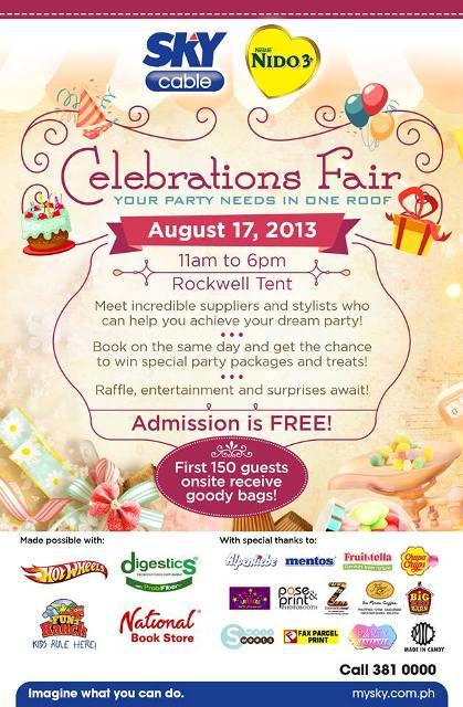 celebrations fair poster